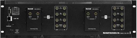 Marshall Electronics V-MD702-3GSDI Dual LCD Monitor Rackmount Unit with 2x 3GSDI Inputs & Loop-Through V-MD702-3GSDI
