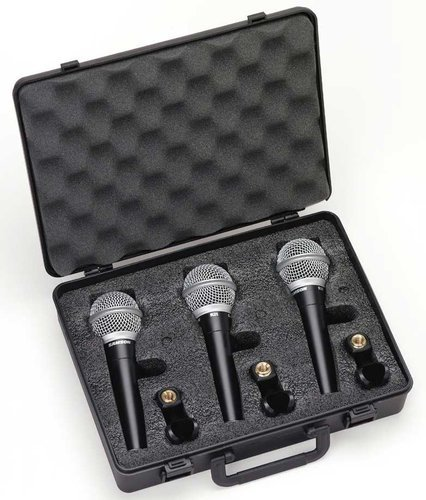 Samson R21 3-Pack of Dynamic Vocal Microphones R21