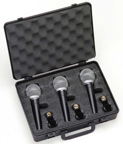 Samson R21 3-Pack of Dynamic Vocal Microphones R21