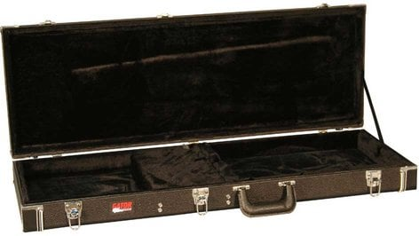 Gator Cases GW-ELECTRIC Deluxe Hardshell Wooden Electric Guitar Case GW-ELECTRIC