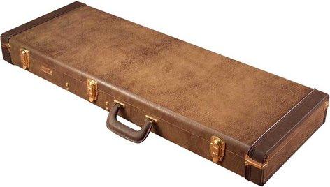 Gator Cases GW-ELECT-VIN Deluxe Hardshell Vintage-Style Wooden Electric Guitar Case GW-ELECT-VIN