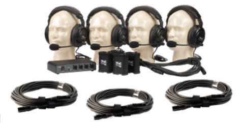 Anchor COM-40FC/C PortaCom 4-Person Intercom System with Cables COM-40FC/C