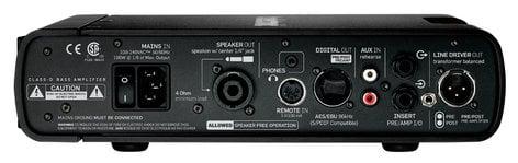 TC Electronic RH750 750W Bass Amplifier Head RH750