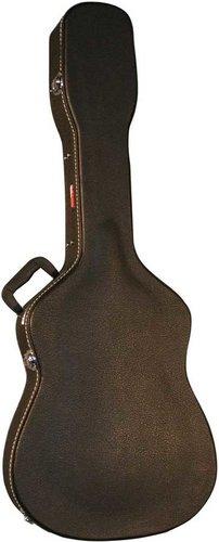 Gator Cases GWE-DREAD-12 Hardshell Wooden 12-String Dreadnought Acoustic Guitar Case GWE-DREAD-12