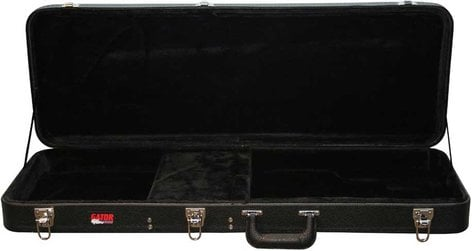 Gator Cases GWE-JAG Hardshell Wooden Electric Guitar Case for Jaguar/Jag-Master/Jazzmaster Guitars GWE-JAG
