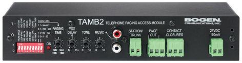 Bogen Communications TAMB2  Telephone Access Module  TAMB2