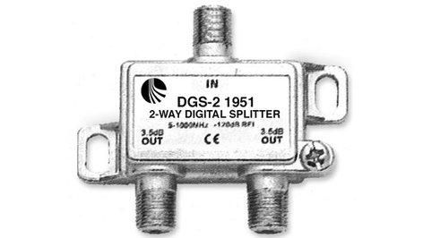 Blonder-Tongue DGS-2  Splitter, Digital 2-way, 1951 DGS-2
