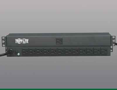 Tripp Lite PDU1215 Power Strip, 15' Cord PDU1215