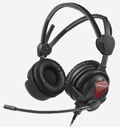 Sennheiser HME 26-600(4)-XQ Closed Supra-Aural Headset with 504204 XQ Cable with P48 HME26-600(4)-XQ