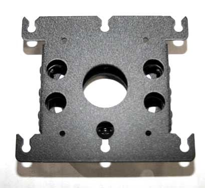 Chief Manufacturing RPA000W Universal Top Mount for Projector Mount, Silver RPA000W
