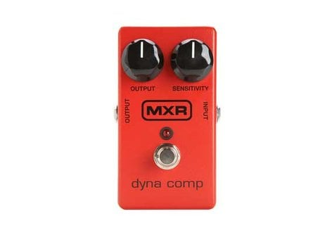MXR Pedals M102 Dyna Comp Guitar Effect Pedal, Compressor M102-MXR