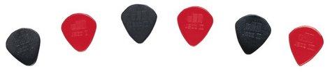 Dunlop Manufacturing 47P 6-Pack of Nylon Jazz I,II,III Guitar Picks 47P
