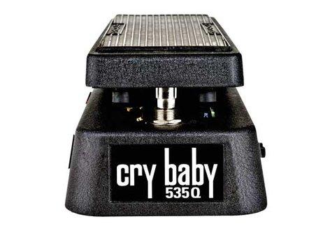 Dunlop Manufacturing 535Q-B Cry Baby Multi-Wah Fasel Wah Pedal Crybaby Q Black 535Q-B