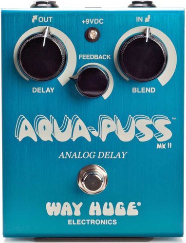 Way Huge WHE701 Aqua Puss Analog Delay Guitar Effect Pedal WHE701