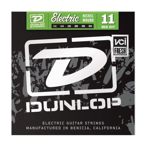 Dunlop Manufacturing DEN1150 Medium Heavy Nickel Wound Electric Guitar Strings DEN1150