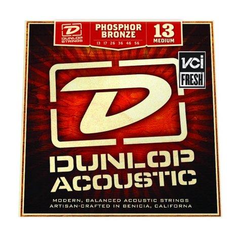Dunlop Manufacturing 1356 Medium Phosphor Bronze Acoustic Guitar Strings DAP1356