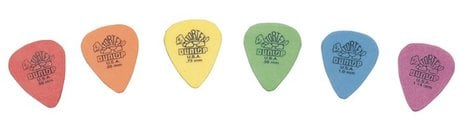Dunlop Manufacturing 418P 12-Pack of Tortex Standard Guitar Picks 418P