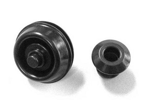 Dunlop Manufacturing SLS1033BK Dual Design StrapLok System Straplocks in Black SLS1033BK