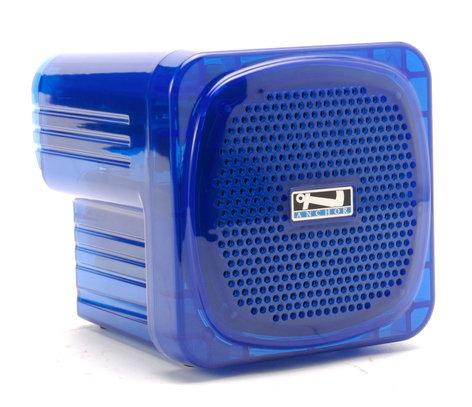 Anchor AN-MINI-BLUE Portable Sound System, Blue AN-MINI-BLUE