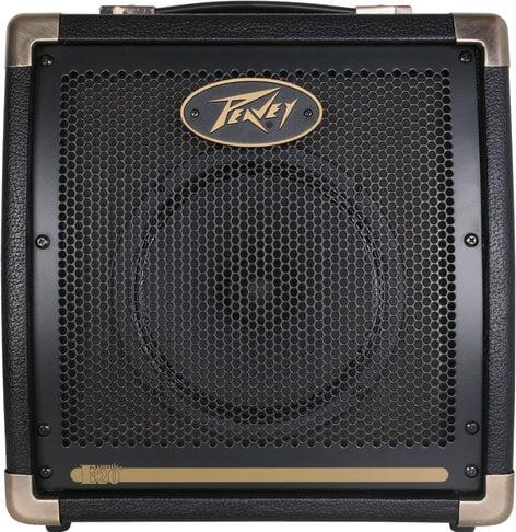 """Peavey Ecoustic E20 2-Ch 20W 1x8"""" Acoustic Guitar Amplifier ECOUSTIC-E20"""