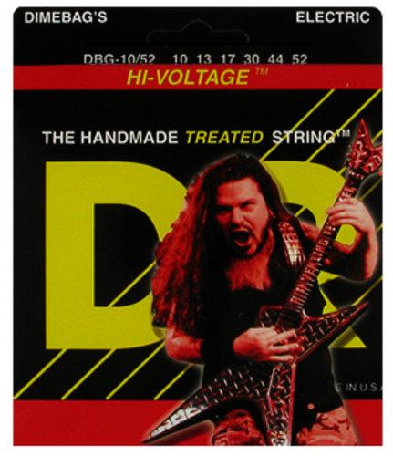 DR Strings DBG-10/52 Big & Heavy Dimebag Darrell Signature Electric Guitar Strings DBG-10/52