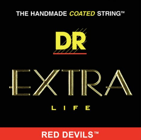 DR Strings RDE-10 Medium Red Devils Electric Guitar Strings RDE-10