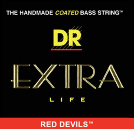 DR Strings RDB-45 Medium Red Devils Electric Bass Strings RDB-45