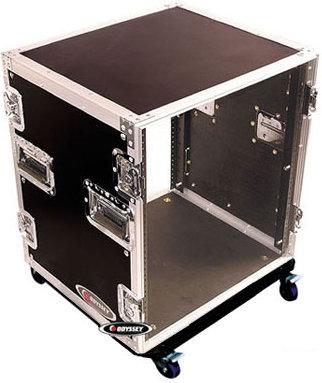 Odyssey FZAR12W  12RU Amp Rack Case with Wheels FZAR12W