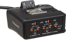 Panasonic AGMYA30G 2-Channel XLR Microphone Adapter AGMYA30G