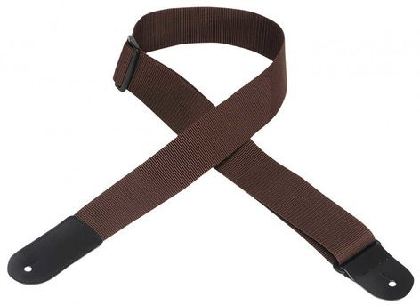 "Levys Leathers M8POLY-L 2"" W Polypropylene Guitar Strap with Large Leather End M8POLY-L"