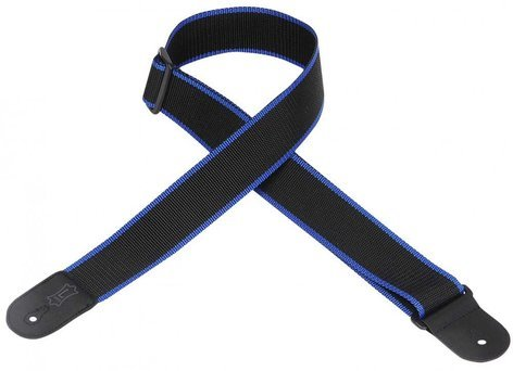 "Levys Leathers M8POLY-XL Extra Long Guitar Strap, 2"" Polypropylene, Polyester Ends M8POLY-XL"