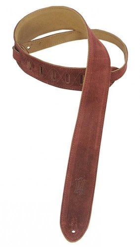 """Levys Leathers MS12 Guitar Strap, 2"""" Suede MS12-LEVYS"""
