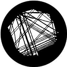 Rosco Laboratories 78023 Random Lines Gobo 78023