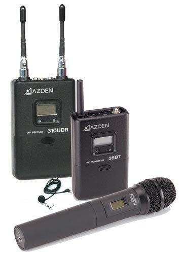 Azden 310LH  UHF On-Camera Handheld/Body-Pack System 310LH