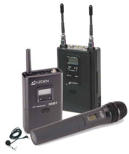 Azden 330LH  UHF Handheld/Body-pack Combo Sysytem 330LH