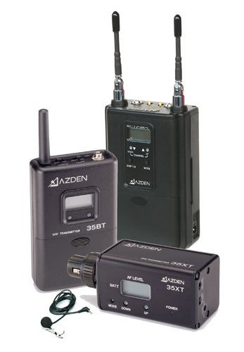 Azden 330LX  Dual-Channel UHF Body-Pack/Plug-in Combo System 330LX