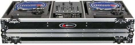 """Odyssey FZBM10W  ATA """"Battle Mode"""" Case for DJ Mixer, 2 Turntables W/W FZBM10W"""