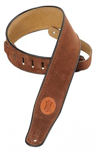 """Levys Leathers MSS3 Signature Series Guitar Strap, 2 1/2"""" Suede MSS3"""