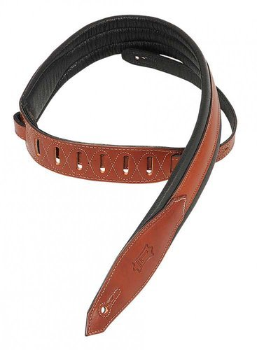 """Levys Leathers MSS80 Guitar Strap, 2"""" Carving Leather MSS80"""