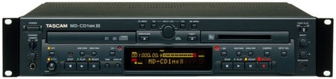 Tascam MD-CDMKIII MiniDisc Recorder and CD Player MDCD1MKIII