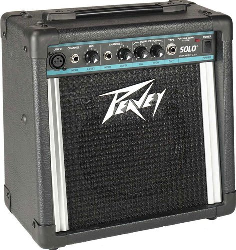 Peavey SOLO-PA Portable Battery-Powered PA/Amplifier SOLO-PA