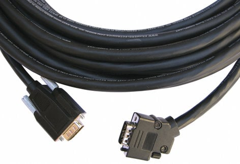 Kramer CP-GM/GM-XL-50 50 ft 15-pin HD Plenum Cable with a 45° Side-Angled Connector CP-GM/GM-XL-50