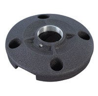 "Chief Manufacturing CMS115  6"" (152 mm) Speed-Connect Ceiling Plate, Black CMS115"