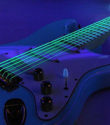 DR Strings NGE-9 Light NEON HiDef SuperStrings Electric Guitar Strings in Green NGE-9