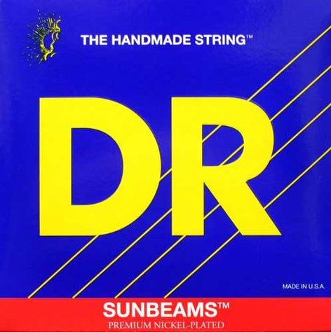 DR Strings NMR5-130  Bass Strings, Sunbeams, Nickel Plated on Round Cores, 5-String Medium 45-130 NMR5-130