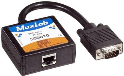 MuxLab MUX-500010  MuxLab 500010 VideoEase VGA Baluns MUX-500010