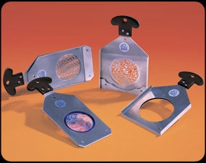 Apollo Design Technology AC-SH-S4B-MGI  Reversible Pattern Holder, Source4-B Iris Slot AC-SH-S4B-MGI