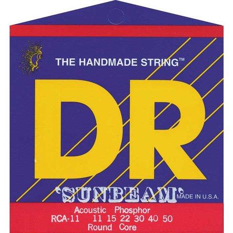 DR Strings RCA-11 Medium-Light Sunbeam Phosphor Bronze Acoustic Guitar Strings RCA-11
