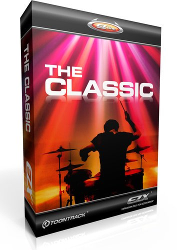 Toontrack The Classic EZX The Classic Expansion for EZdrummer/Superior Drummer (Electronic Delivery) THE-CLASSIC