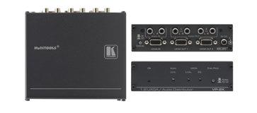 Kramer VP2K  1:2 Computer Graphics Video and Stereo Audio Distribution Amplifier VP2K
